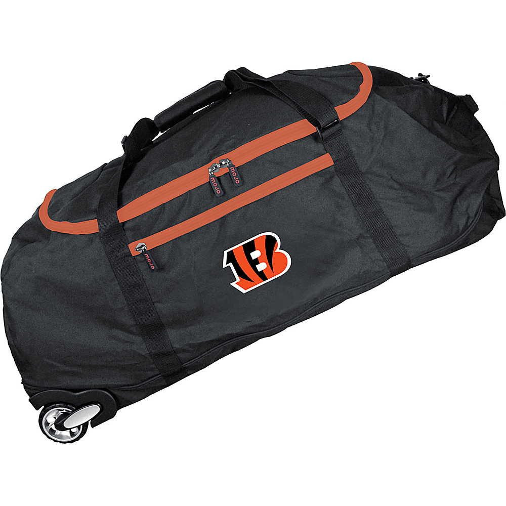 MOJO Denco NFL 36 Collapsible Duffle Cincinnati Bengals - MOJO Denco Travel Duffels - Duffels, Travel Duffels