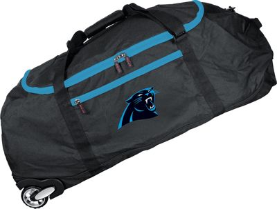 MOJO NFL 36 inch Collapsible Duffle Carolina Panthers - MOJO Travel Duffels