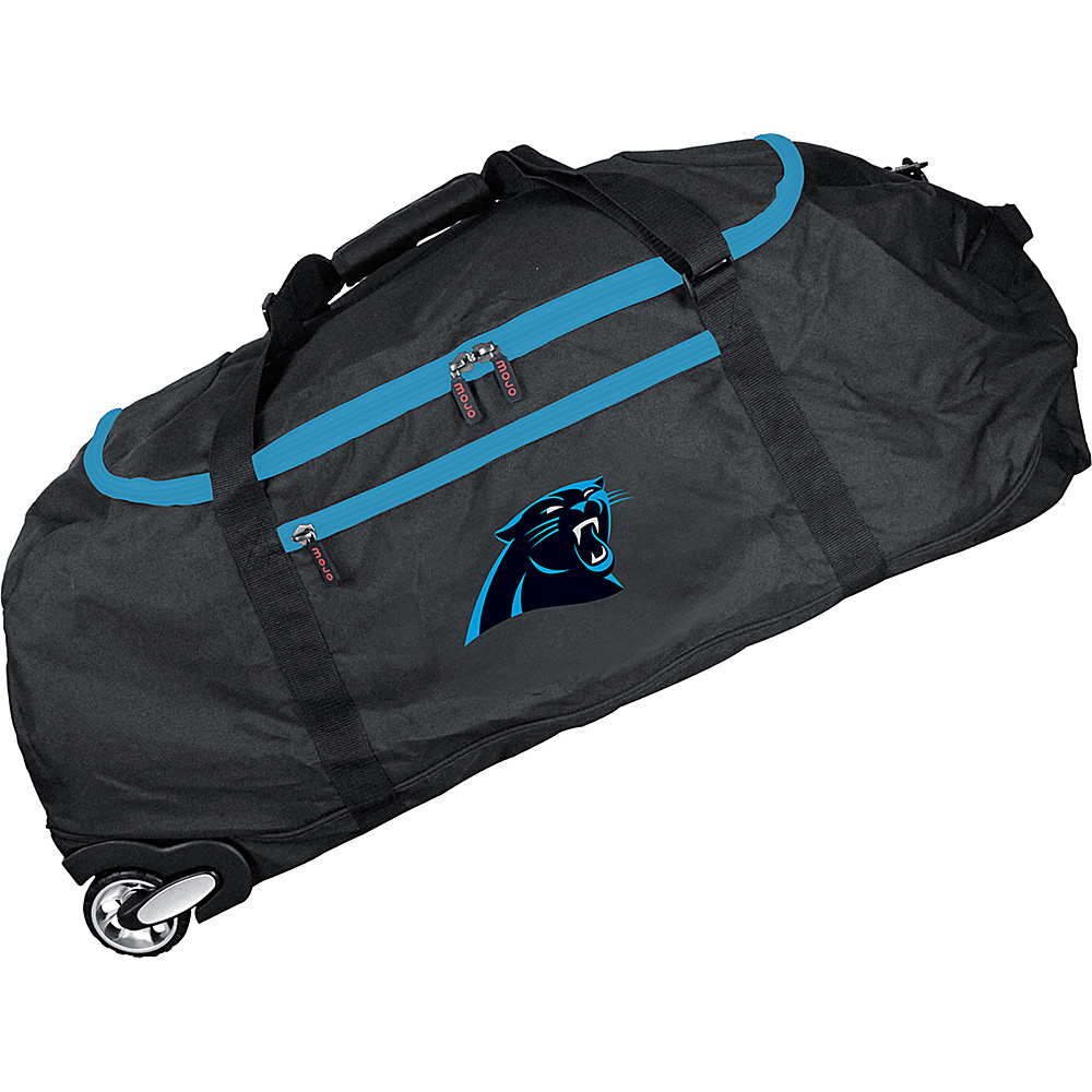 MOJO Denco NFL 36 Collapsible Duffle Carolina Panthers - MOJO Denco Travel Duffels - Duffels, Travel Duffels
