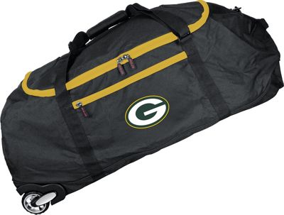 MOJO Denco NFL 36 inch Collapsible Duffle Green Bay Packers - MOJO Denco Travel Duffels