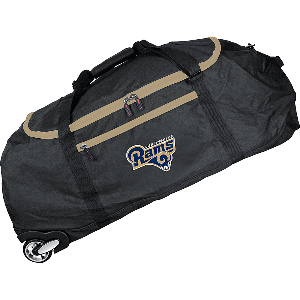MOJO Denco NFL 36 Collapsible Duffle Los Angeles Rams - MOJO Denco Travel Duffels - Duffels, Travel Duffels