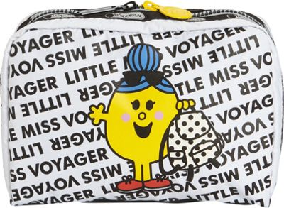 LeSportsac Mr. Men and Little Miss Extra Large Rectangular Cosmetic Bag Little Miss Voyager - LeSportsac Women's SLG Other 10571991