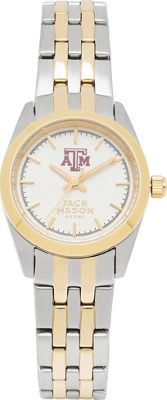 Jack Mason League NCAA Two-Tone Bracelet Watch Texas A&M Aggies - Jack Mason League Watches