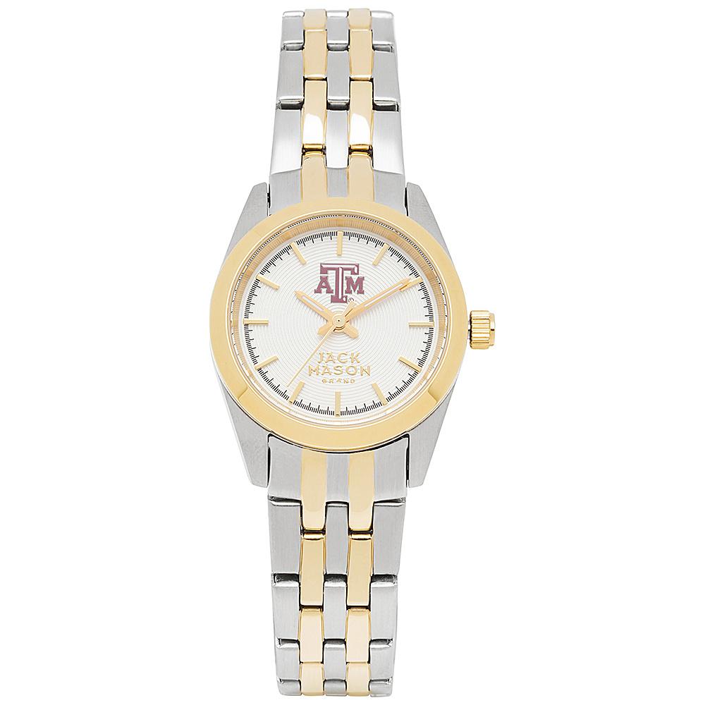 Jack Mason League NCAA Two-Tone Bracelet Watch Texas A&M Aggies - Jack Mason League Watches - Fashion Accessories, Watches