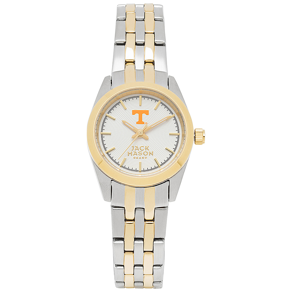 Jack Mason League NCAA Two-Tone Bracelet Watch Tennessee Volunteers - Jack Mason League Watches - Fashion Accessories, Watches