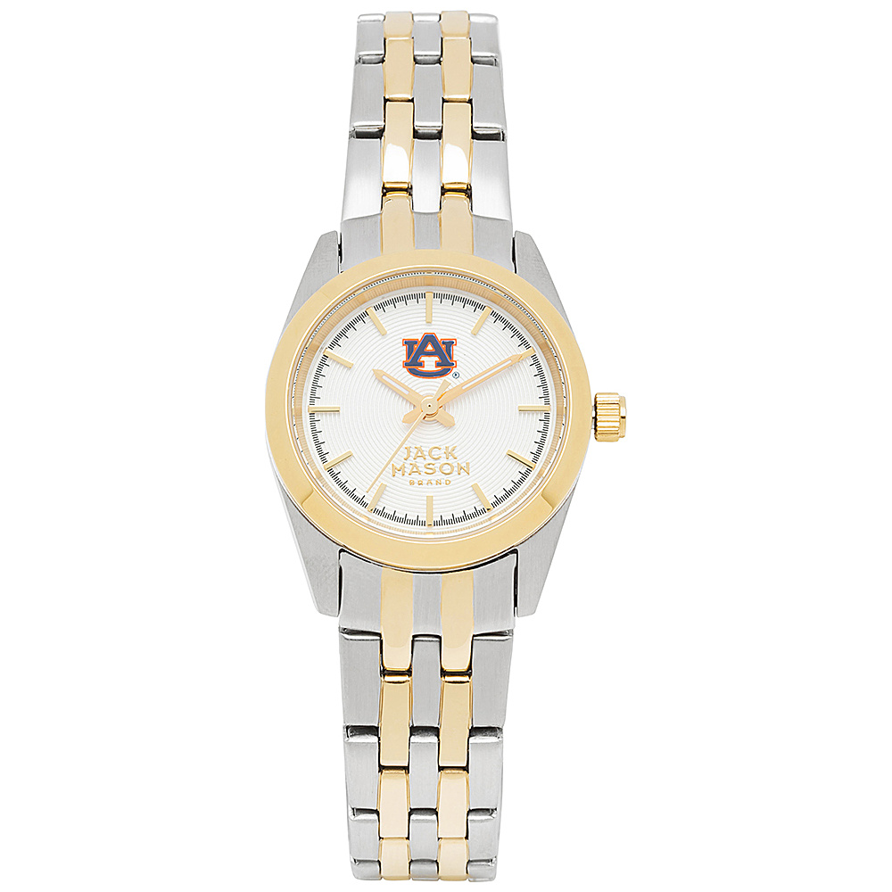 Jack Mason League NCAA Two-Tone Bracelet Watch Auburn Tigers - Jack Mason League Watches - Fashion Accessories, Watches