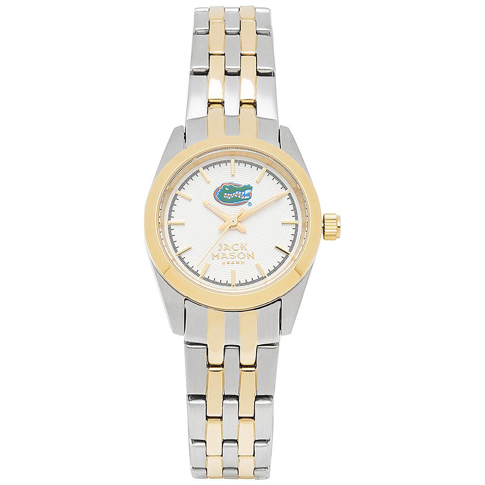 Jack Mason League NCAA Two-Tone Bracelet Watch Florida Gators - Jack Mason League Watches - Fashion Accessories, Watches