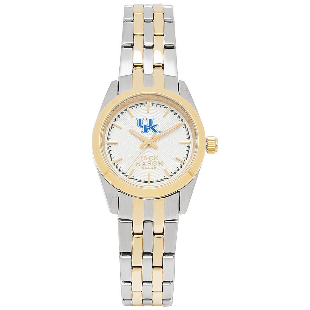 Jack Mason League NCAA Two-Tone Bracelet Watch Kentucky Wildcats - Jack Mason League Watches - Fashion Accessories, Watches