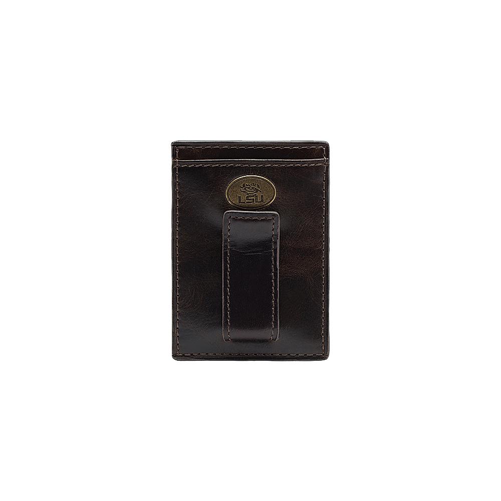 Jack Mason League NCAA Legacy Front Pocket Wallet LSU Tigers - Jack Mason League Mens Wallets - Work Bags & Briefcases, Men's Wallets