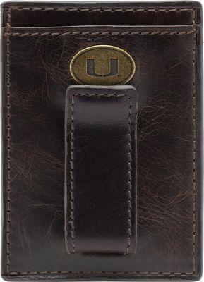 Jack Mason League NCAA Legacy Front Pocket Wallet Miami Hurricanes - Jack Mason League Men's Wallets