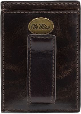Jack Mason League NCAA Legacy Front Pocket Wallet Mississippi Rebels - Jack Mason League Men's Wallets