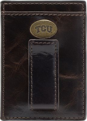 Jack Mason League NCAA Legacy Front Pocket Wallet TCU Horned Frogs - Jack Mason League Men's Wallets