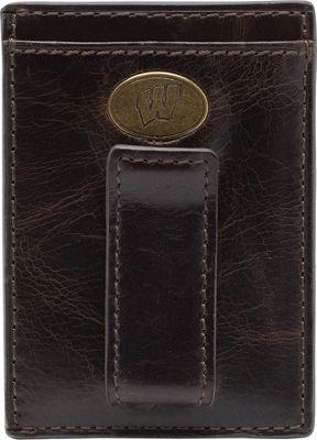 Jack Mason League NCAA Legacy Front Pocket Wallet Wisconsin Badgers - Jack Mason League Men's Wallets