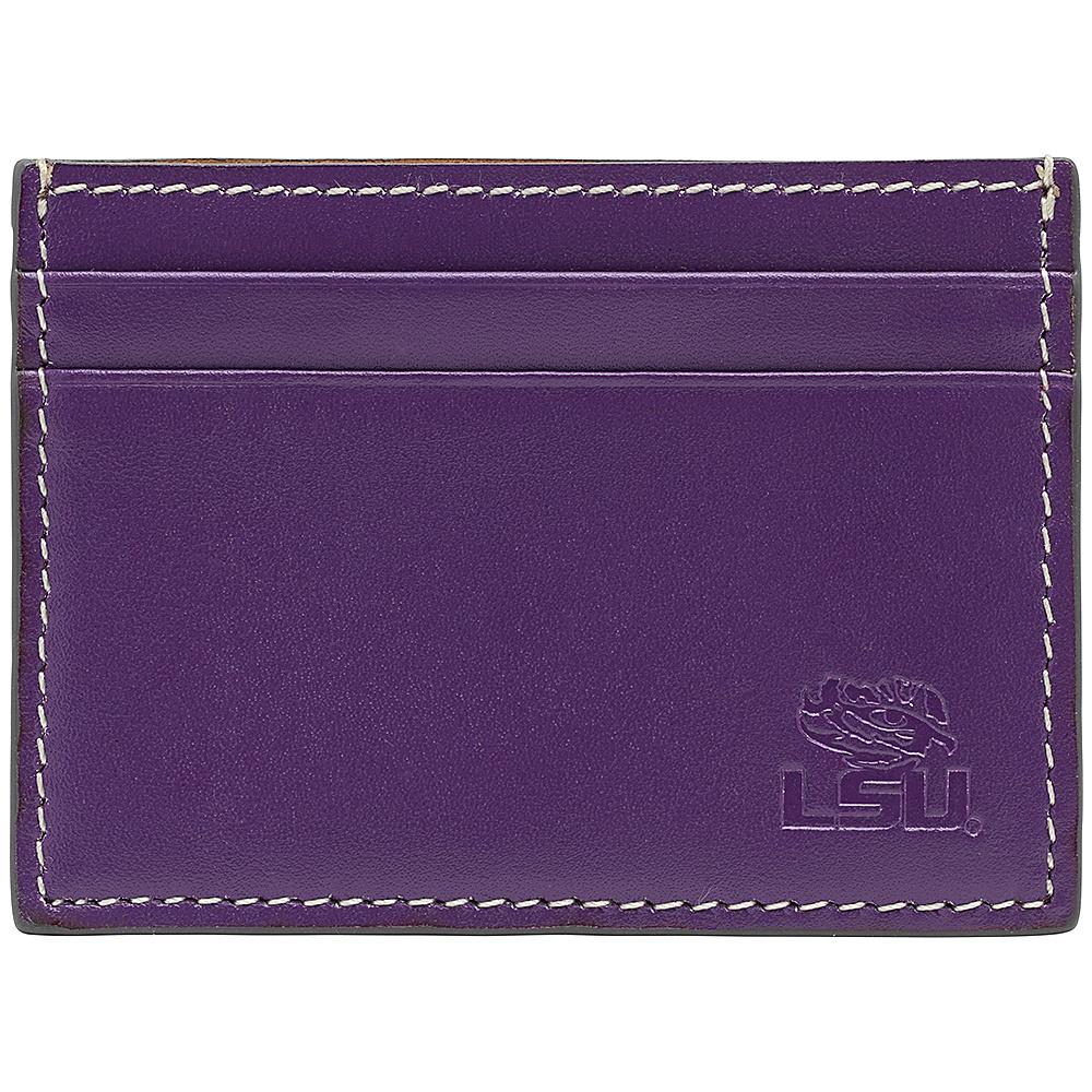 Jack Mason League NCAA Gameday Card Case LSU Tigers - Jack Mason League Mens Wallets - Work Bags & Briefcases, Men's Wallets