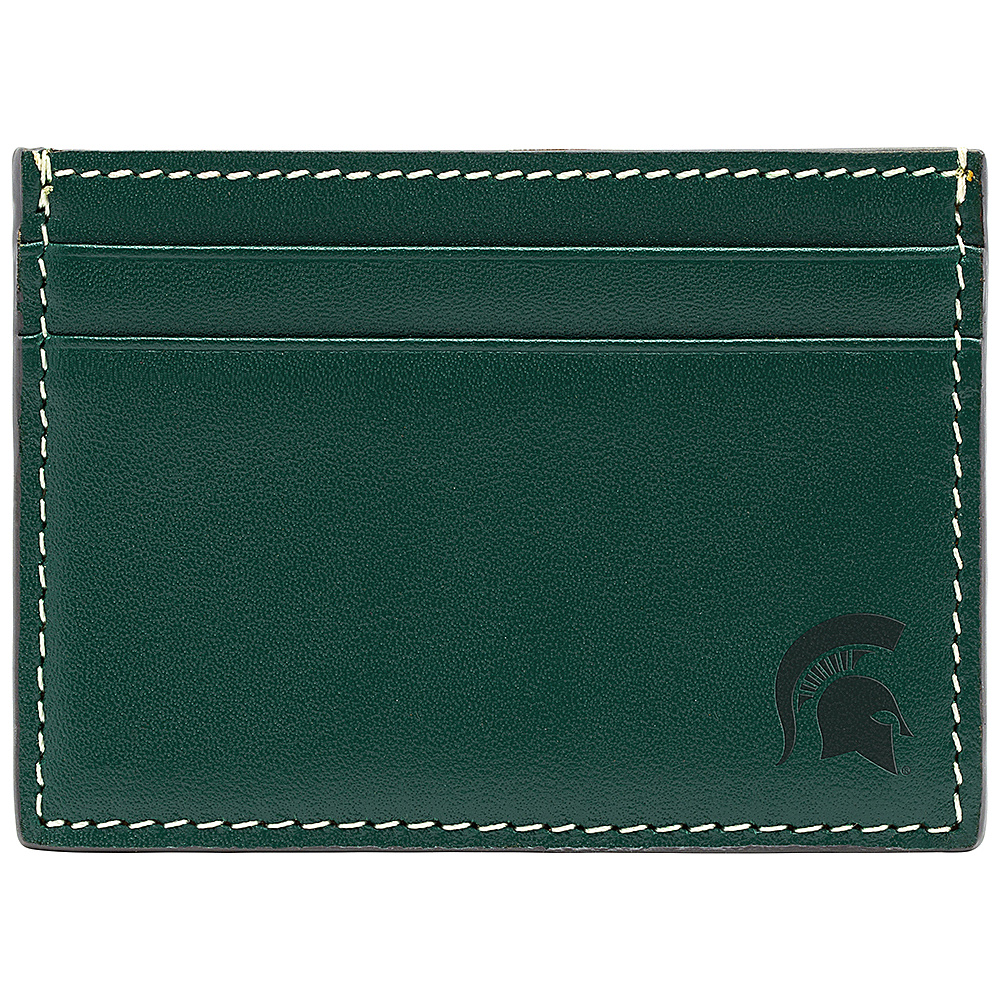 Jack Mason League NCAA Gameday Card Case Michigan State Spartans - Jack Mason League Mens Wallets - Work Bags & Briefcases, Men's Wallets