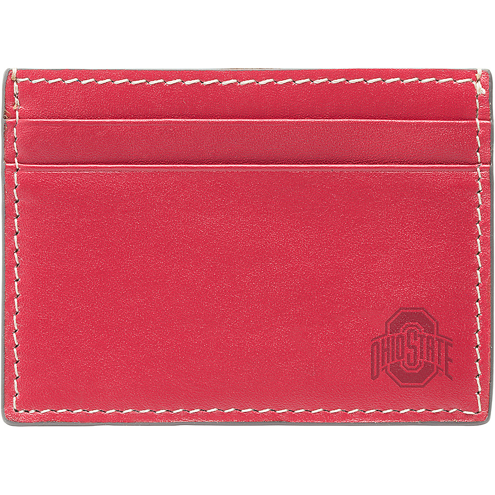 Jack Mason League NCAA Gameday Card Case Ohio State Buckeyes - Jack Mason League Mens Wallets - Work Bags & Briefcases, Men's Wallets