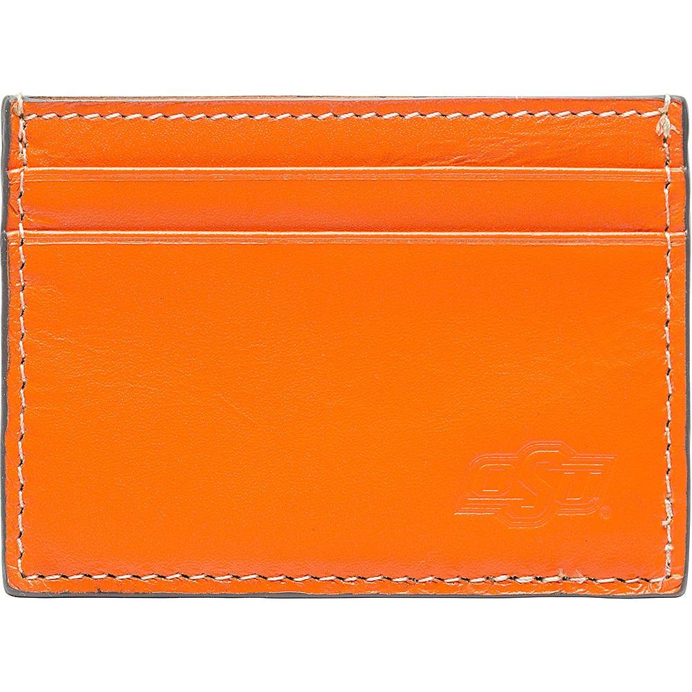 Jack Mason League NCAA Gameday Card Case Oklahoma State Cowboys - Jack Mason League Mens Wallets - Work Bags & Briefcases, Men's Wallets