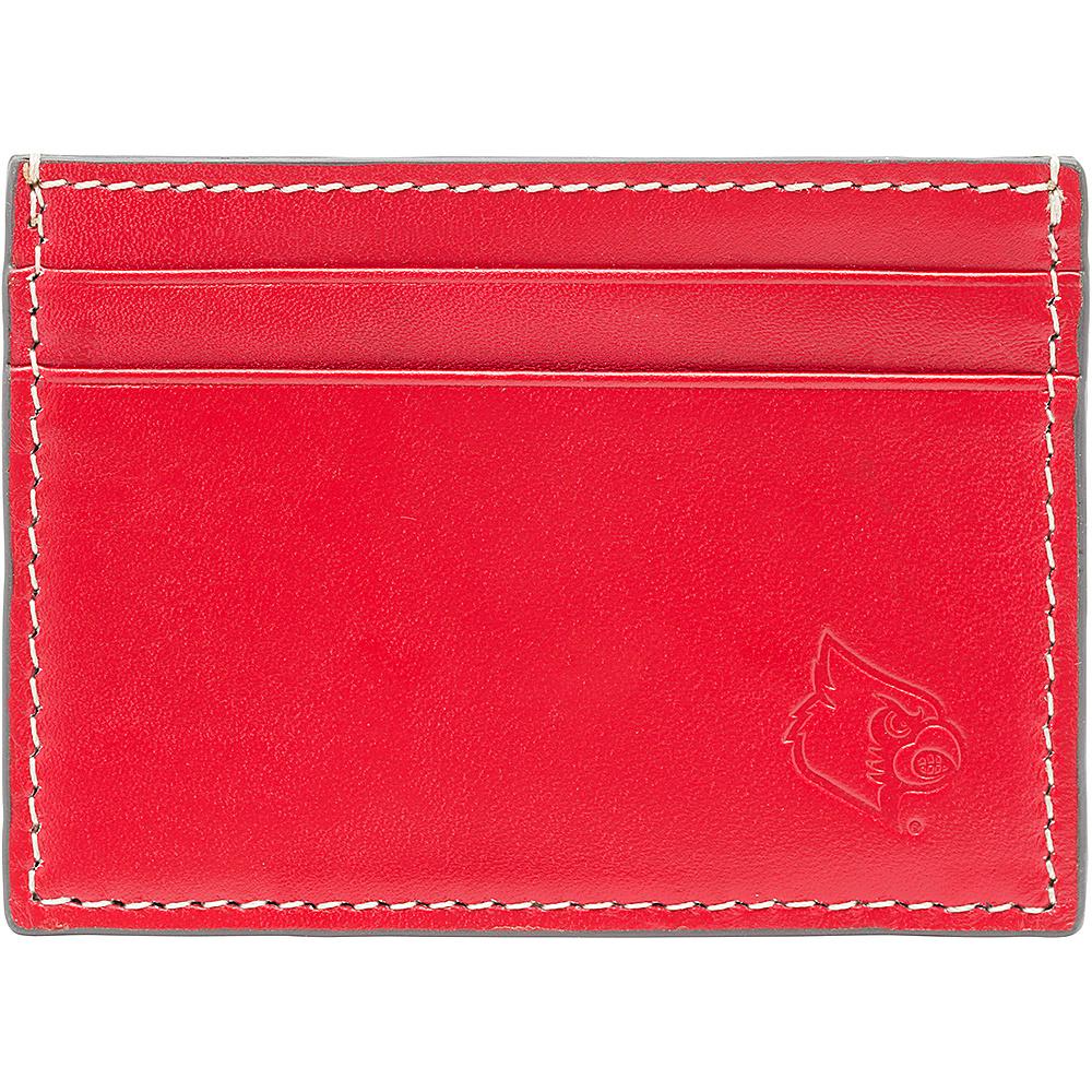 Jack Mason League NCAA Gameday Card Case Louisville Cardinals - Jack Mason League Mens Wallets - Work Bags & Briefcases, Men's Wallets