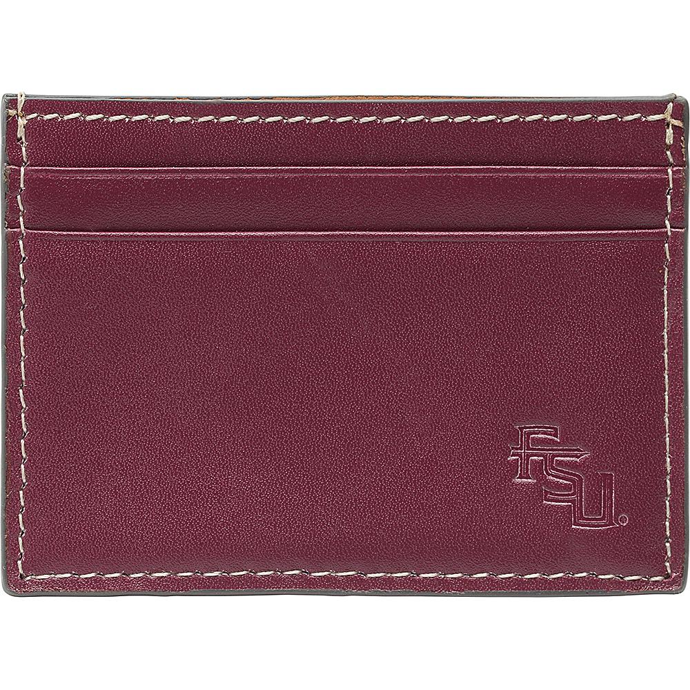 Jack Mason League NCAA Gameday Card Case Florida State Seminoles - Jack Mason League Mens Wallets - Work Bags & Briefcases, Men's Wallets