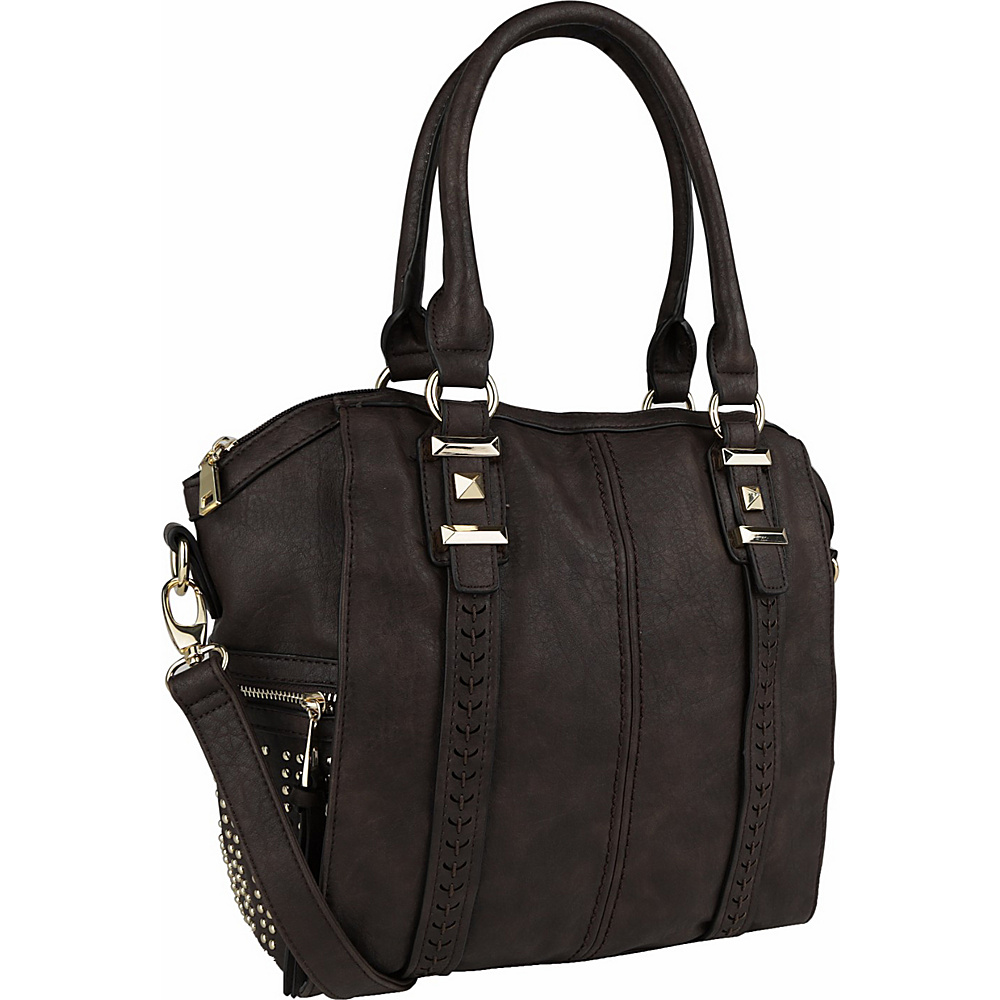 MKF Collection by Mia K. Farrow Lille Weekender Tote Coffee - MKF Collection by Mia K. Farrow Manmade Handbags - Handbags, Manmade Handbags