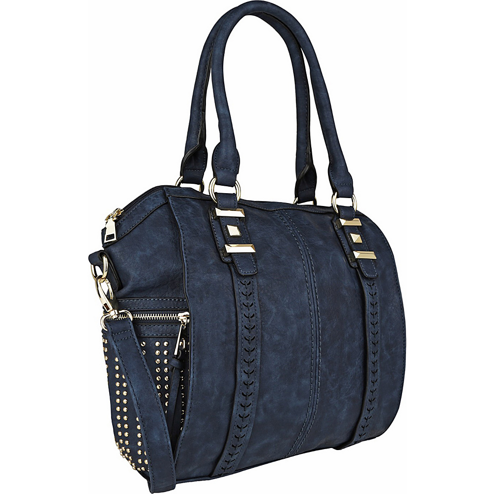 MKF Collection by Mia K. Farrow Lille Weekender Tote Navy - MKF Collection by Mia K. Farrow Manmade Handbags - Handbags, Manmade Handbags