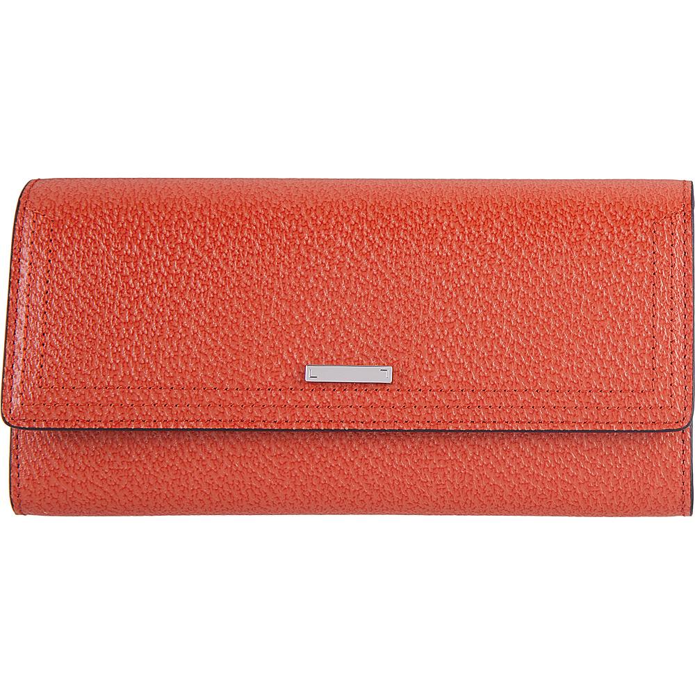 Lodis Stephanie Under Lock & Key Cami Clutch Wallet Orange - Lodis Womens Wallets - Women's SLG, Women's Wallets
