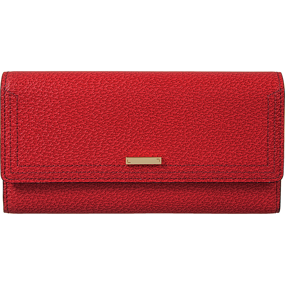 Lodis Stephanie Under Lock & Key Cami Clutch Wallet Red - Lodis Womens Wallets - Women's SLG, Women's Wallets