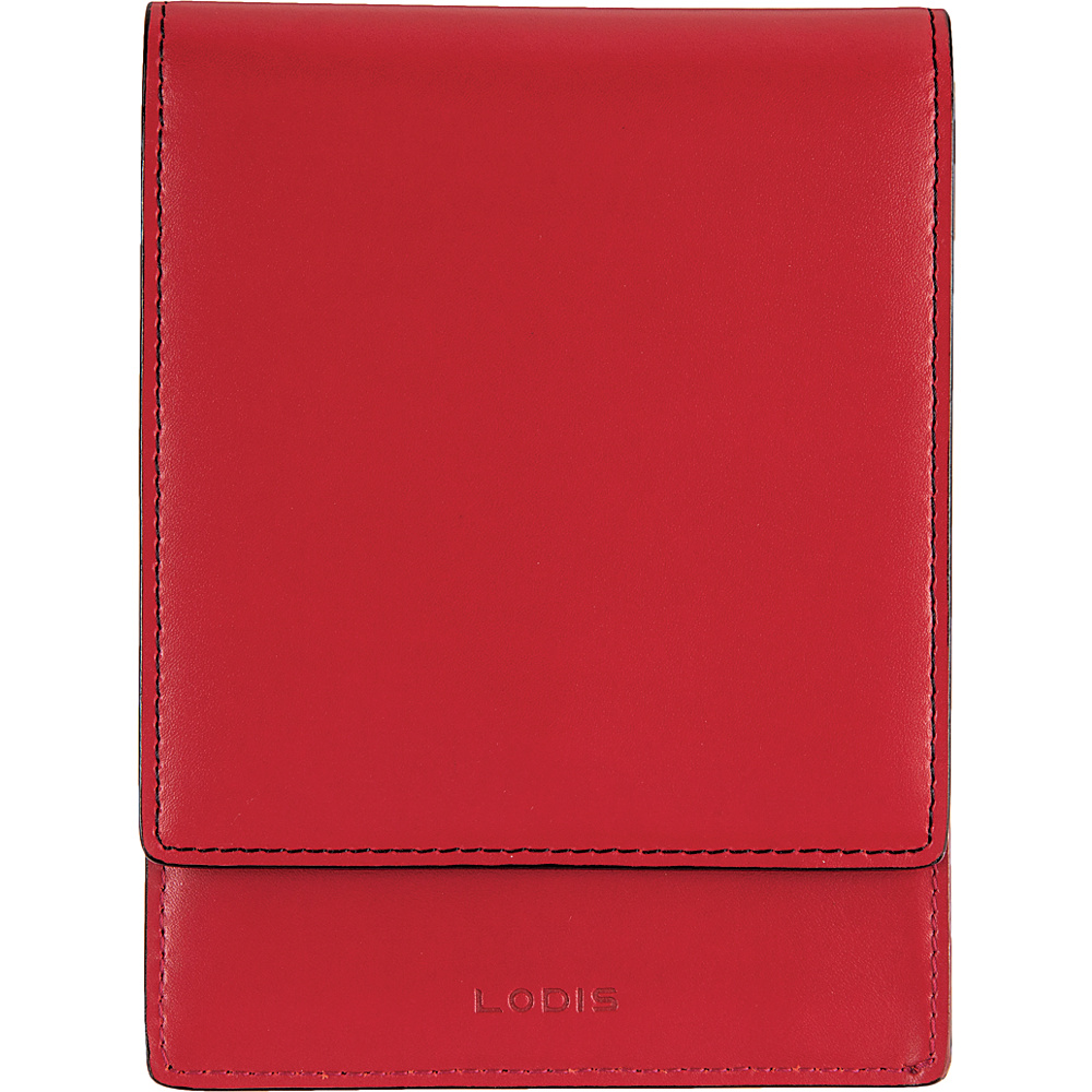 Lodis Audrey RFID Skyler Passport Wallet Red - Lodis Travel Wallets - Travel Accessories, Travel Wallets