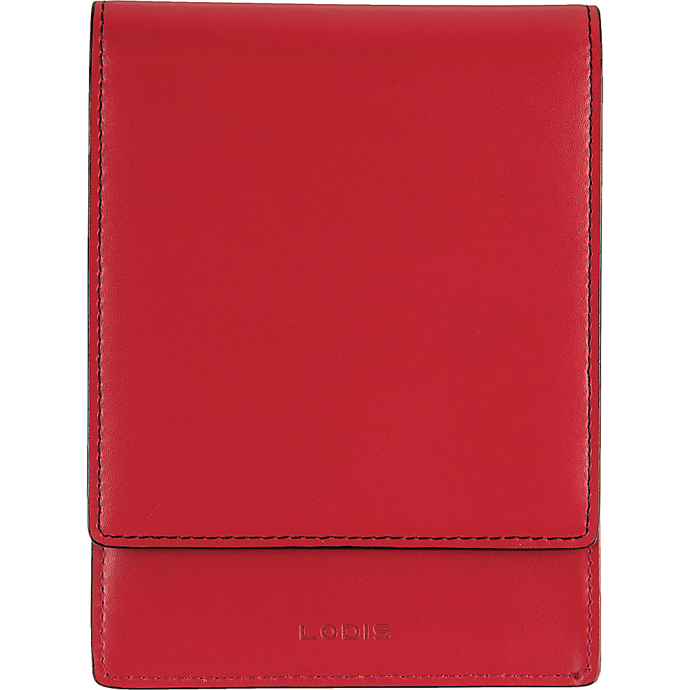 Lodis Audrey Skyler Passport Wallet Red - Lodis Travel Wallets - Travel Accessories, Travel Wallets