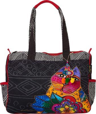 Laurel Burch Mara Medium Tote Mara - Laurel Burch Fabric Handbags