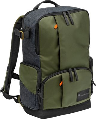 Manfrotto Bags Street Backpack Green - Manfrotto Bags Camera Cases