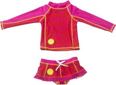 Biglove Kids Swim Shirt & Skirt 2T - Love - Biglove Women's Apparel