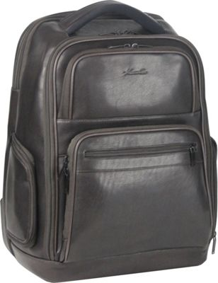 Kenneth Cole New York Business Single Compartment 15.6 inch Laptop Backpack Black - Kenneth Cole New York Business Laptop Backpacks