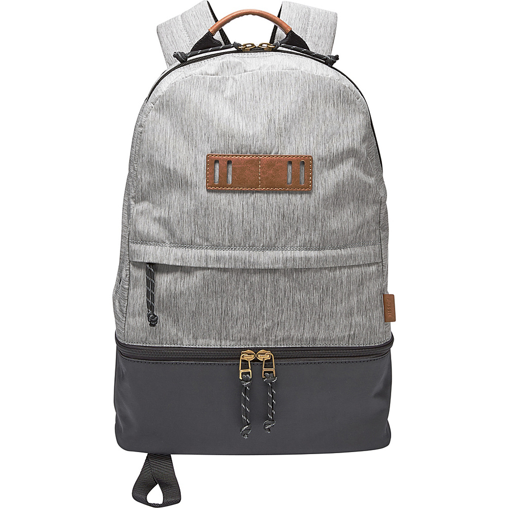 Fossil Summit Backpack Grey - Fossil Laptop Backpacks - Backpacks, Laptop Backpacks