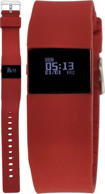 Wired Fitness Tracker Watch Red - Wired Wearable Technology