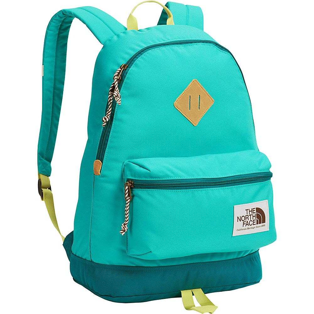 The North Face Berkeley Backpack Vistula Blue/Linden Green - The North Face School & Day Hiking Backpacks - Backpacks, School & Day Hiking Backpacks