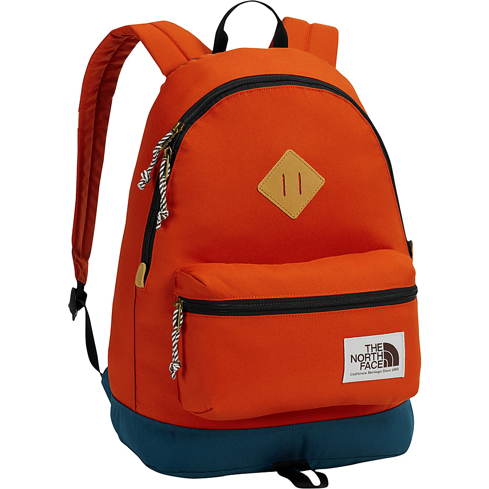The North Face Berkeley Backpack Tibetan Orange/Monterey Blue - The North Face School & Day Hiking Backpacks - Backpacks, School & Day Hiking Backpacks