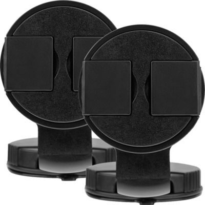 XIT Universal Rotating Car Mount With Suction - 2 Pack Black - XIT Trunk and Transport Organization