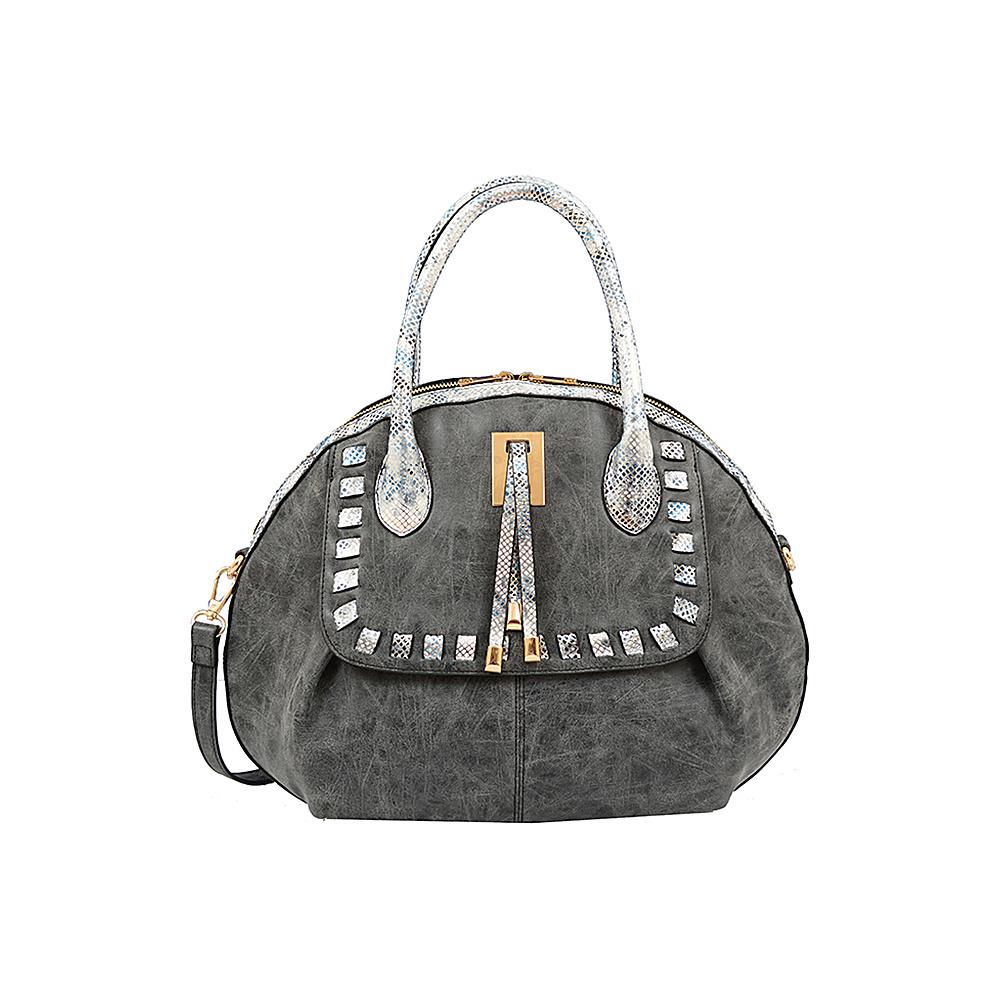 Mellow World Maya Satchel Black - Mellow World Manmade Handbags