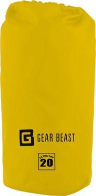 Gear Beast Large Capacity Waterproof Dry Bag 20 Liter - Yellow - Gear Beast Sports Accessories