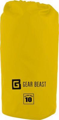 Gear Beast Large Capacity Waterproof Dry Bag 10 Liter - Yellow - Gear Beast Sports Accessories