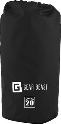 Gear Beast Large Capacity Waterproof Dry Bag 20 Liter - Black - Gear Beast Sports Accessories
