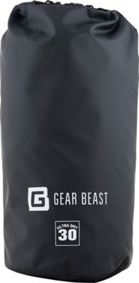 Gear Beast Large Capacity Waterproof Dry Bag 30 Liter - Black - Gear Beast Sports Accessories