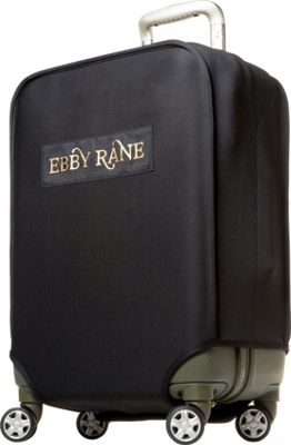 Ebby Rane Luggage Travel Cover Jet Black - Ebby Rane Luggage Accessories