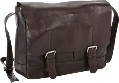 Petersons Heritage Leather Messenger Brown - Petersons Messenger Bags