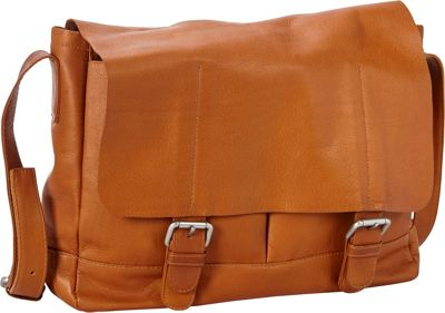 Petersons Heritage Leather Messenger Tan - Petersons Messenger Bags