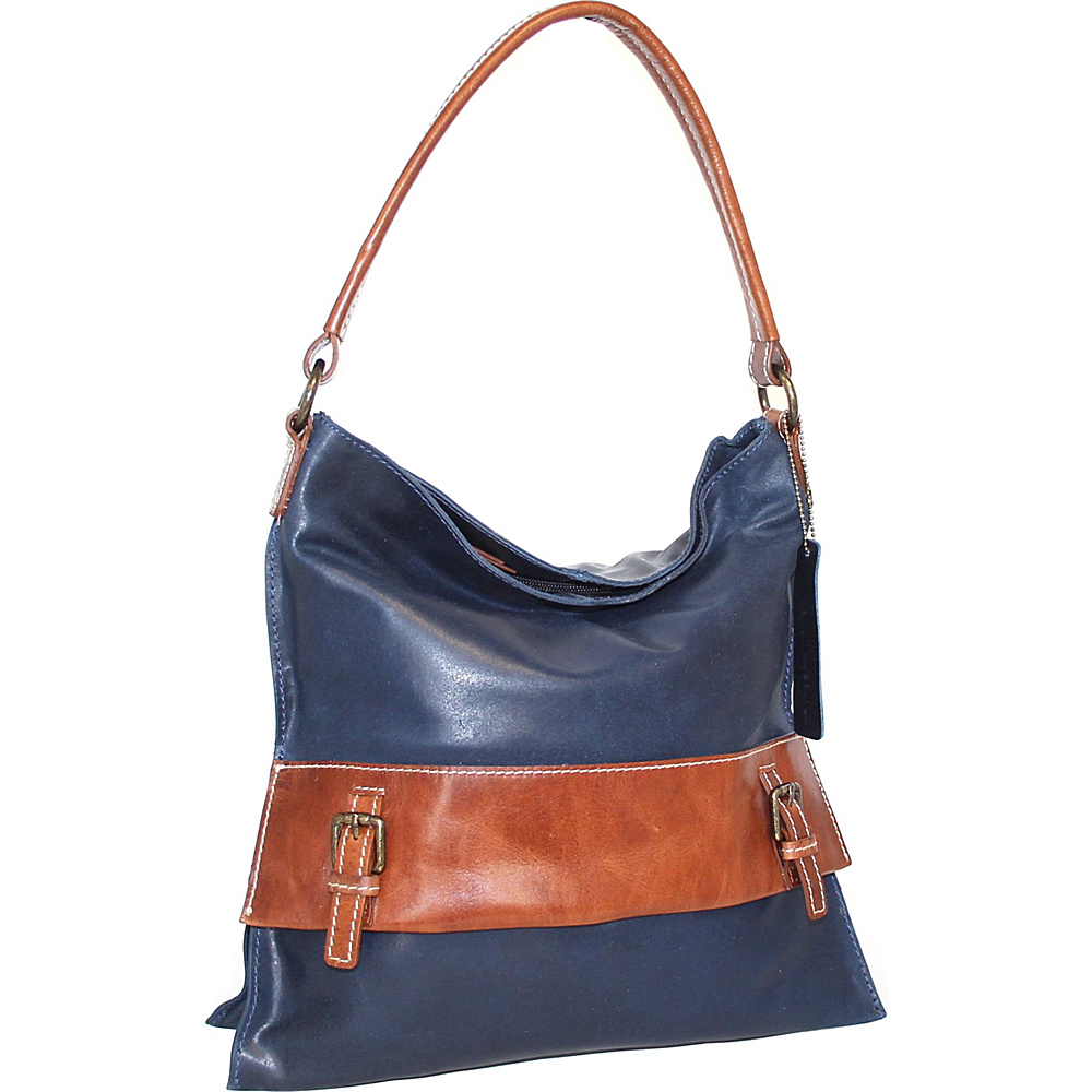 Nino Bossi Britt Shoulder Bag Denim - Nino Bossi Leather Handbags - Handbags, Leather Handbags