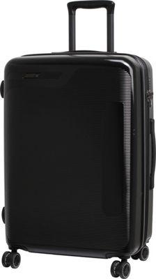 it luggage Autograph Hardside 8 Wheel 25.8 inch Spinner Luggage Black with Grey - it luggage Hardside Checked