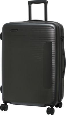 it luggage Autograph Hardside 8 Wheel 25.8 inch Spinner Luggage Dark Grey - it luggage Hardside Checked