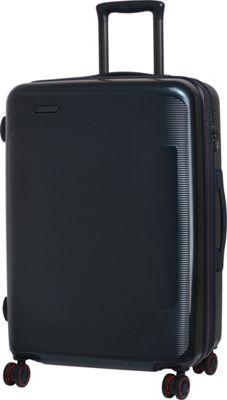 it luggage Autograph Hardside 8 Wheel 25.8 inch Spinner Luggage Navy - it luggage Hardside Checked